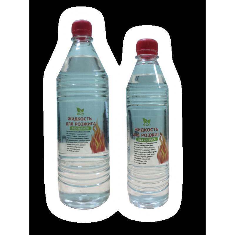 """Жидкость для розжига """"Эко"""" без запаха (парафиновое масло) 0,5 л"""