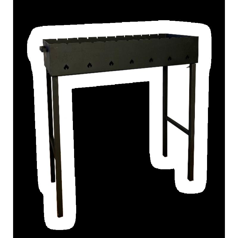 Мангал классический со съемными ножками, Модель 017