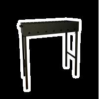 Мангал классический со съемными ножками, Модель 018