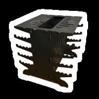 Мангал вертикальный разборный, Модель 014