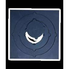 Плита варочная со съемными кольцами квадратная, Модель 022