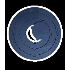Плита варочная со съемными кольцами круглая, Модель 023